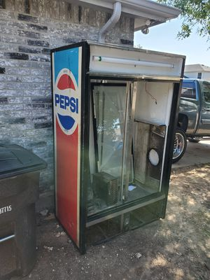True Pepsi cooler for scrap.. for Sale in Fort Worth, TX