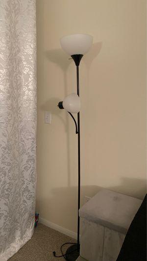 Floor Lamp w/ Reader Lamp for Sale in Lewisville, TX