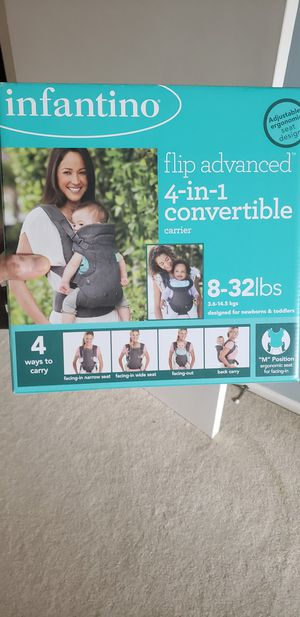 Infantino baby carrier 4 in 1 for Sale in King of Prussia, PA