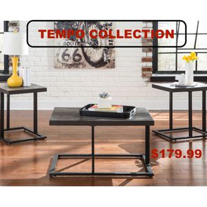 3 PC Coffee Table Set, Bronze for Sale in Downey, CA