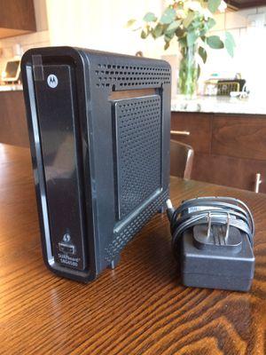 Motorola SURFboard Modem/WiFi Router SBG6580 for Sale in Seattle, WA