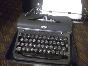 1939 Royal typewriter for Sale in Spokane, WA