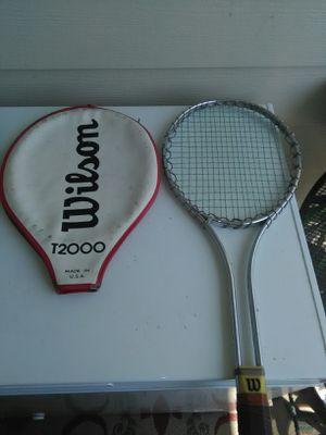 Vintage Wilson tennis racket for Sale in Manahawkin, NJ