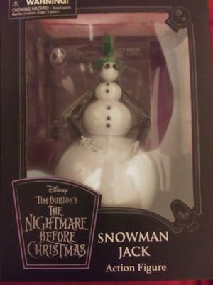 Nightmare before Christmas snowman Jack collectable for Sale in Phoenix, AZ