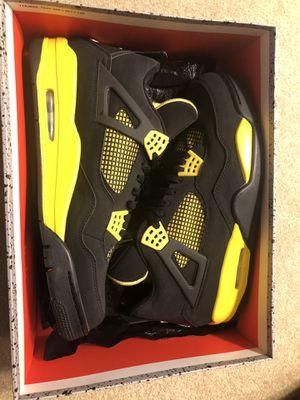 Brand new Jordan 4 - Thunder size 13 for Sale in Herndon, VA