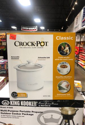 Crock Pot 1.5 QT WHITE for Sale in Fresno, CA