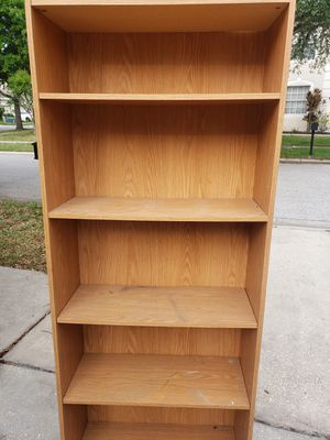 """3 Bookshelves 72"""" tall, 30"""" wide, 12"""" deep all 3 for $30 for Sale in Tampa, FL"""