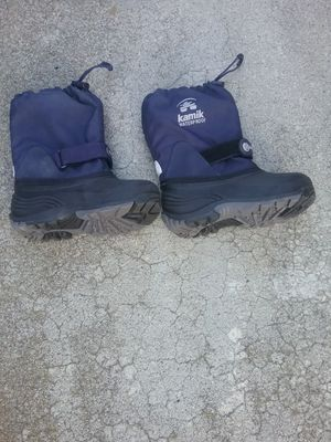 Snow boots, size 12 kids, ex cond, kamik for Sale in San Jose, CA
