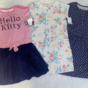 Girl Dresses Size 6/7 Brand New. Carters / Hello Kitty (Best Offer) for Sale in Los Angeles, CA