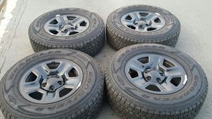 2020 Jeep Wrangler wheels and tires for Sale in San Diego, CA