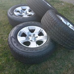 New Rims Tires Dodge Ram 2020 6 Lug $500 for Sale in Watsonville, CA