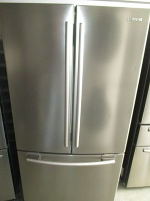 Samsung refrigerator french door stainless platinum for Sale in Euless, TX