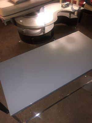 Teresa Coffee Table with High Gloss Gray Finish by Euro Style for Sale in San Pablo, CA