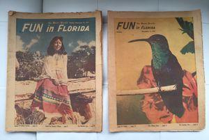 1957 Miami Herald - (2) Rare Newspapers for Sale in Miami, FL