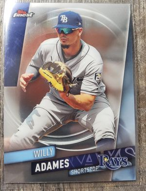 Willy Adames topps finest card for Sale in Cicero, IL