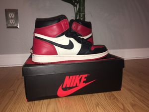 Jordan 1 bred toes size 13 for Sale in Clovis, CA