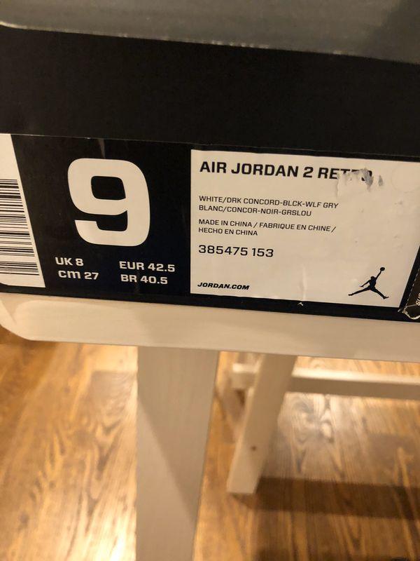 Jordan 2 Retros-Concord