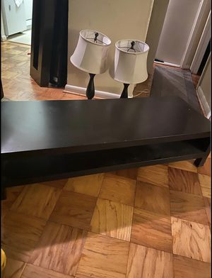 Black Coffee Table for Sale in Washington, DC