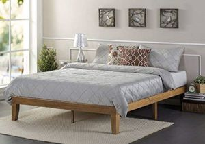 Wood full frame bed and mattress included new in box. We deliver for Sale in Lexington, KY