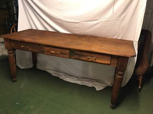 Rustic antique farm table for Sale in Pittsburgh, PA