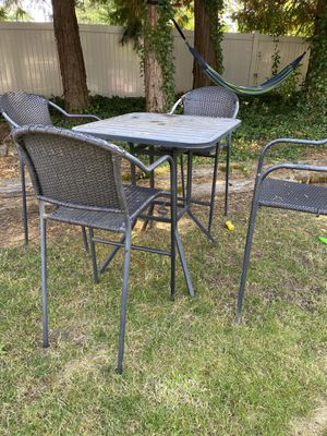 Tall Outdoor furniture for Sale in Keizer, OR