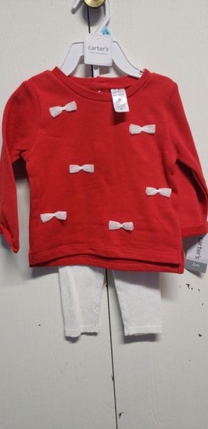 Carter Xmas outfit size 6 months for Sale in Renton, WA