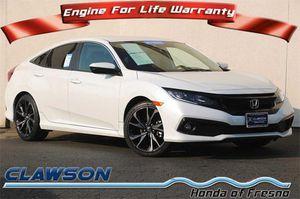 2019 Honda Civic Sedan for Sale in Fresno, CA