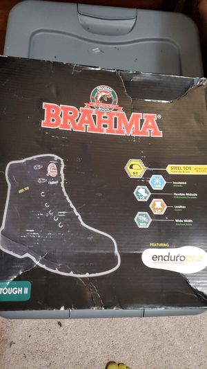 Brahma mens steel toe work boot sz 7 for Sale in Hanover, MD