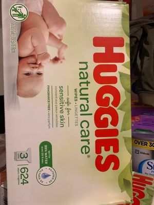 Huggies wipes-natural Care for Sale in Downey, CA