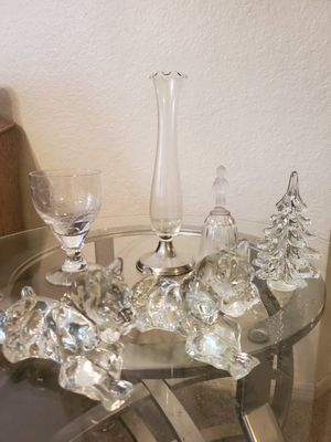 Cristal glass decor for Sale in Fort Myers, FL