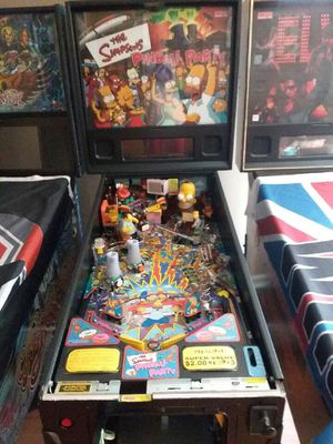 The Simpson's Pinball Party for Sale in Terre Haute, IN