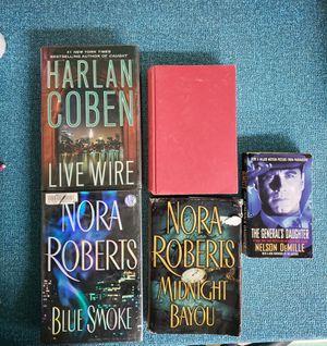 Harlan Coben, Nora Roberts, Nelson DeMille, Tami Hoag Novels for Sale in Newburgh, IN