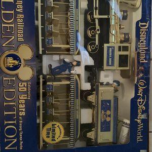 Disney Railroad Train (gold edition) for Sale in Ontario, CA