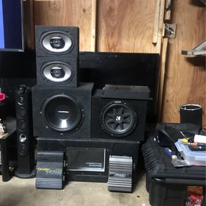 Audio System Package Deal for Sale in Santa Ana, CA