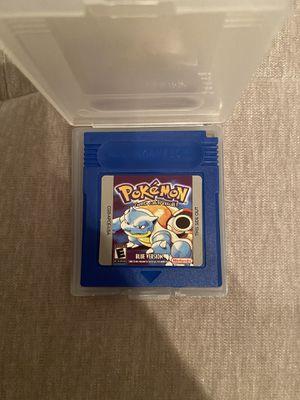 Pokémon blue Gameboy color for Sale in Alpharetta, GA