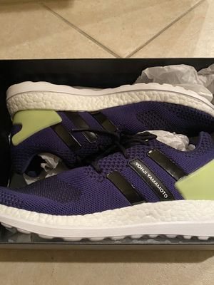 **NEW**Adidas Y-3 Yohji Yamamoto Pure Boost ZG Knit AQ5730 Limited Edition Mens Size 8.5, Runner/Athletic/CrossFit for Sale in Boca Raton, FL