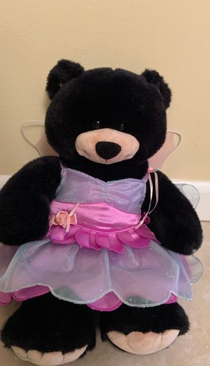 "Build A Bear Black Bear Fairy 18"" inches for Sale in Boca Raton, FL"