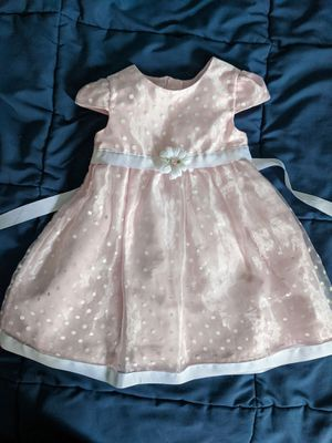 Cute Baby girls 18 Months Flower girl Dress party occasion wedding pretty pink for Sale in Haddon Township, NJ