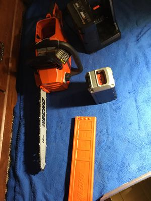 Brand NEW Echo 58V Chainsaw SET with 4.0Ah Battery & Charger! ALL for 120 mañana 💥💥👍🏽👍🏽👍🏽 for Sale in Arlington, TX