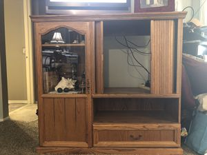Home entertainment center / cabinet for Sale in Long Beach, CA