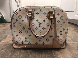 Genuine Louis Vuitton bag with lock 🔐 for Sale in Upland, CA