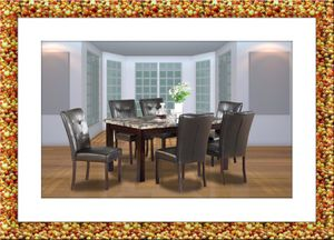 5pc dining table with 4 chairs free delivery for Sale in Ashburn, VA