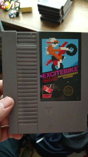 Excitebike nes game for Sale in Appomattox, VA