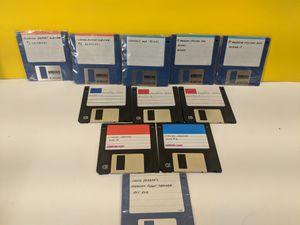 "5 Different Floppy Disc Computer Software Programs - Vintage 3.5"" Software for Sale in Des Plaines, IL"