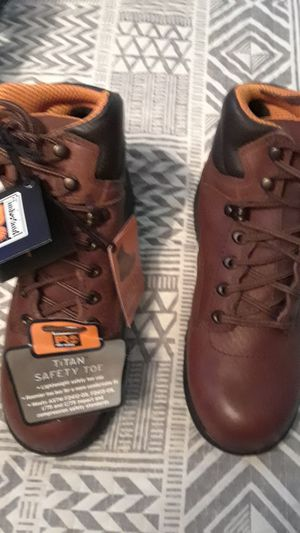 """7..5 WOMEN'S TITAN ' 6"""" SAFETY TOE BOOTS for Sale in Hillsboro, MO"""