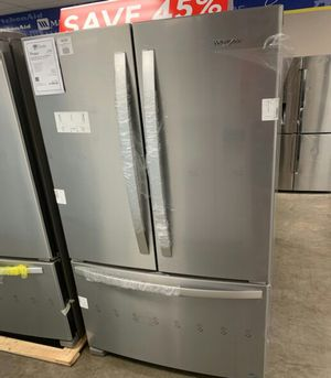 "New Whirlpool Stainless 36"" French Door Refrigerator!1 Year Manufacturer Warranty Included! for Sale in Gilbert, AZ"