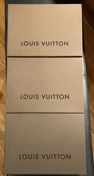 Louis Vuitton gift boxes and shopping bags for Sale in Denver, CO