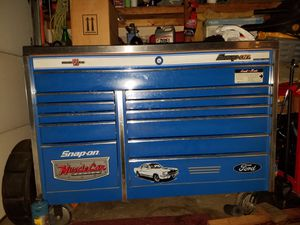 Snap on tool box with tools for Sale in Vancouver, WA