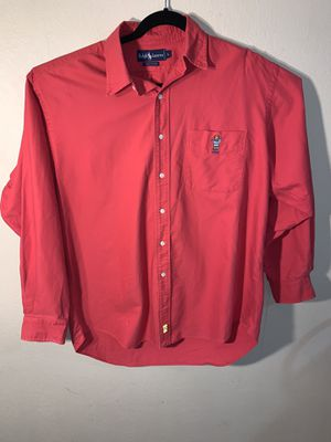 Men's large red dress shirt for Sale in Fort Worth, TX