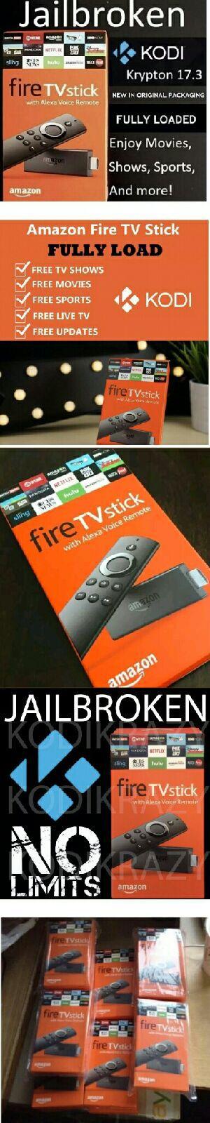 🔥 🔥 Amazon Fire Tv Stick Firestick Unlocked Jailbroken w Live TV Kodi 17.6 Movies and PPVs Android TV Box Killer🔥 🔥 for Sale in Las Vegas, NV